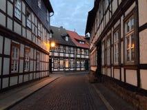 Calles de Wernigerode Fotos de archivo