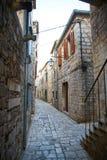 Calles del graduado de Stari imagenes de archivo