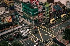 Calles del kilolitro Foto de archivo libre de regalías