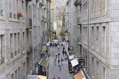 Calles del Santo-Malo Imagen de archivo libre de regalías