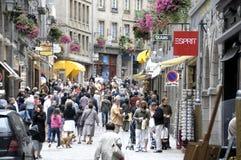 Calles del Santo-Malo Fotografía de archivo libre de regalías