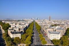 Calles en París Fotografía de archivo
