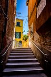 Calles estrechas de Venecia Imagen de archivo
