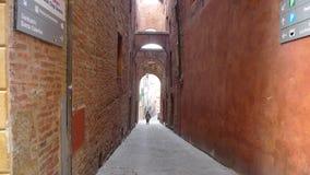 Calles estrechas en Italia Fotos de archivo libres de regalías