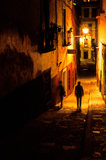 Calles Guanajuato, México de Guanajuato Fotos de archivo libres de regalías