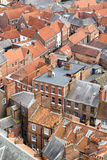 Calles inglesas medievales Imágenes de archivo libres de regalías