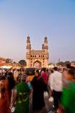 Calles muy transitadas de Hyderabad Imagen de archivo libre de regalías