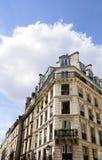 Calles parisienses hermosas Fotografía de archivo libre de regalías