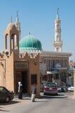 Calles tranquilas de la isla de Tarout, la Arabia Saudita Imagenes de archivo
