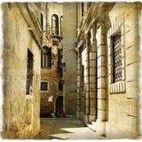Calles viejas Foto de archivo