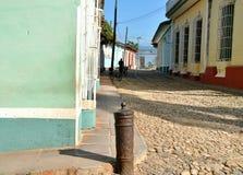 Calles viejas de la ciudad Foto de archivo libre de regalías