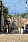 Calles viejas de la ciudad Fotografía de archivo