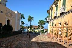 Calles viejas de la ciudad Imágenes de archivo libres de regalías