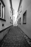 Calles viejas en la parte histórica de la ciudad Imagenes de archivo