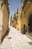 Calles y carriles de Italia Fotos de archivo libres de regalías