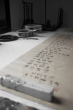 Calligrafia cinese Fotografie Stock Libere da Diritti
