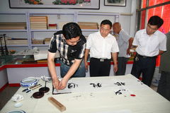 Calligrapher to create Stock Photos