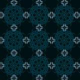 Calligraphic antique seamless pattern Stock Photo