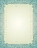 calligraphic certifikatlinjer för bakgrund Royaltyfri Bild
