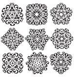 Calligraphic decorative elements Royalty Free Stock Photography