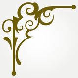 Calligraphic design element Stock Photography