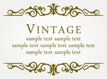 Calligraphic design element Royalty Free Stock Photo