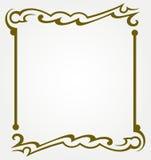 Calligraphic design element Royalty Free Stock Photos