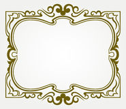 Calligraphic design element Stock Photo