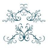 Calligraphic design element, vintage pattern Stock Photo