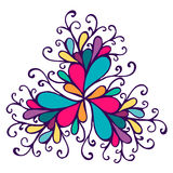 Calligraphic design element, vintage pattern Stock Images
