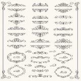 Calligraphic Design Elements Stock Photos