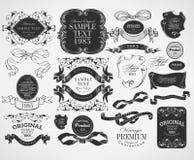 Calligraphic design elements Stock Photography