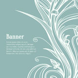 Calligraphic design elements. Flourish vector Stock Photography