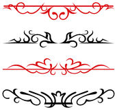 Calligraphic design elements and page decoration - Royalty Free Stock Photos
