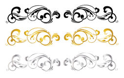 Calligraphic Design Stock Images