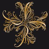 Calligraphic design elements and page decoration.  set.  Stock Photography
