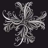 Calligraphic design elements and page decoration. vector set.  Royalty Free Stock Photos