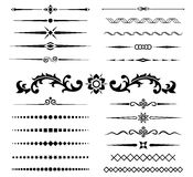 Calligraphic design elements 4 Royalty Free Stock Photography