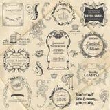Calligraphic Design Elements Royalty Free Stock Image