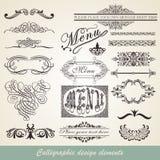 Calligraphic element Royalty Free Stock Photos