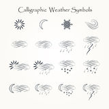 Calligraphic Forecast Royalty Free Stock Photo