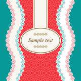 Calligraphic frame. Vector lacy napkins framework of calligraphic elements Stock Photos