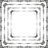 Calligraphic frames Royalty Free Stock Image
