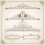 Calligraphic ramar II Royaltyfria Foton