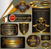 Calligraphic retro design elements and frames best and original Stock Photos