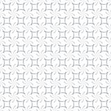 Calligraphic Strokes Seamless Pattern. Regular trellis pattern of curved calligraphic strokes. Neutral white and grey ornamental background. Vector seamless Stock Images