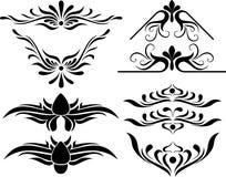 Calligraphie abstraite Image libre de droits