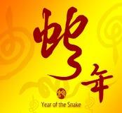 Calligraphie chinoise 2013 Photos libres de droits