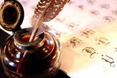 calligraphy Royaltyfri Foto