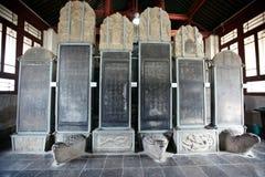Calligraphy art  in Xian beilin museum Stock Images